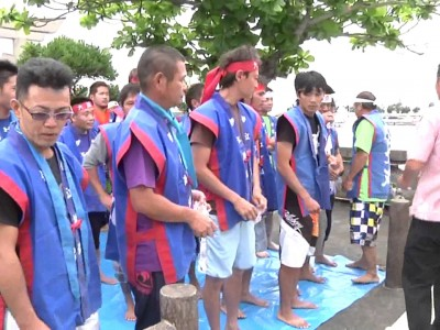 2015年6月19日(金)2015伊江島海神祭パーリ / 伊江島・伊江港大口の浜