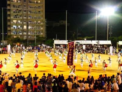 2015年8月2日(日)第4回コザエイサーまつり / 沖縄市・コザ中学校