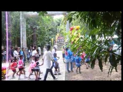 2015年9月22日(火)・23日(水)南大東村 豊年祭 / 南大東島・大東神社村民の杜公園