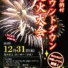 2015年12月31日(木)恩納村カウントダウン花火大会のポスター