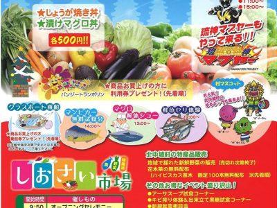 2016年12月25日(日)北中城村農水産物フェアー / 北中城村・しおさい市場