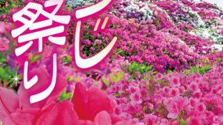 第36回東村つつじ祭りのフライヤー