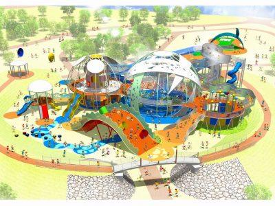 2017年7月28日(金)~ 新遊具施設「命の卵」 / 糸満市・平和祈念公園