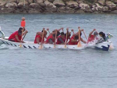 2017年8月6日(日)第39回名護市長杯争奪 全島ハーリー大会 / 名護市・名護漁港
