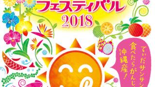 おきなわ花と食のフェスティバル2018のフライヤー2