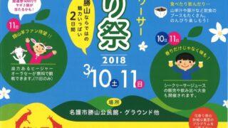 第14回 勝山シークヮーサー花香り祭フライヤー1
